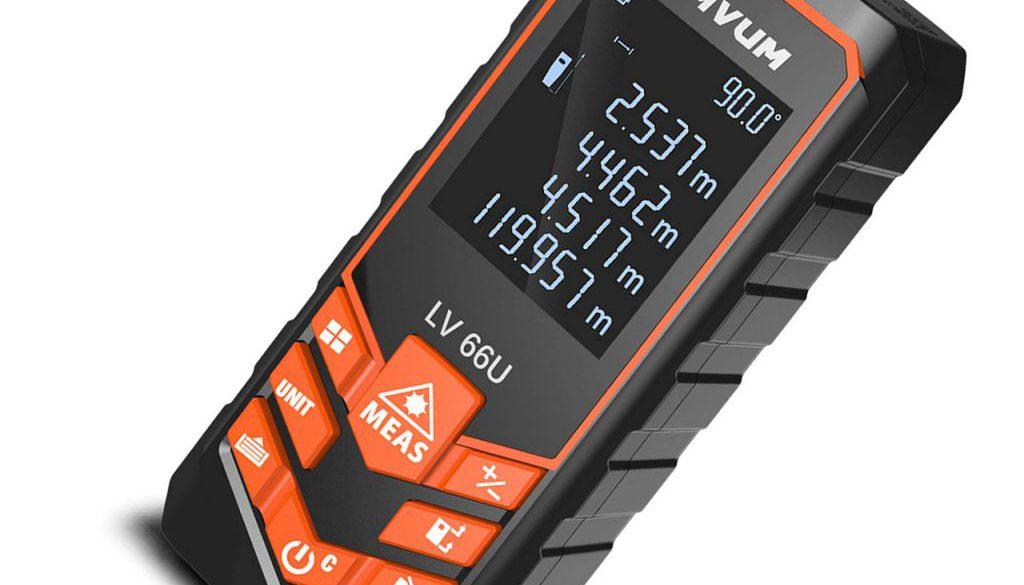 Elektroniczna miara laserowa Lomvum LV 66U
