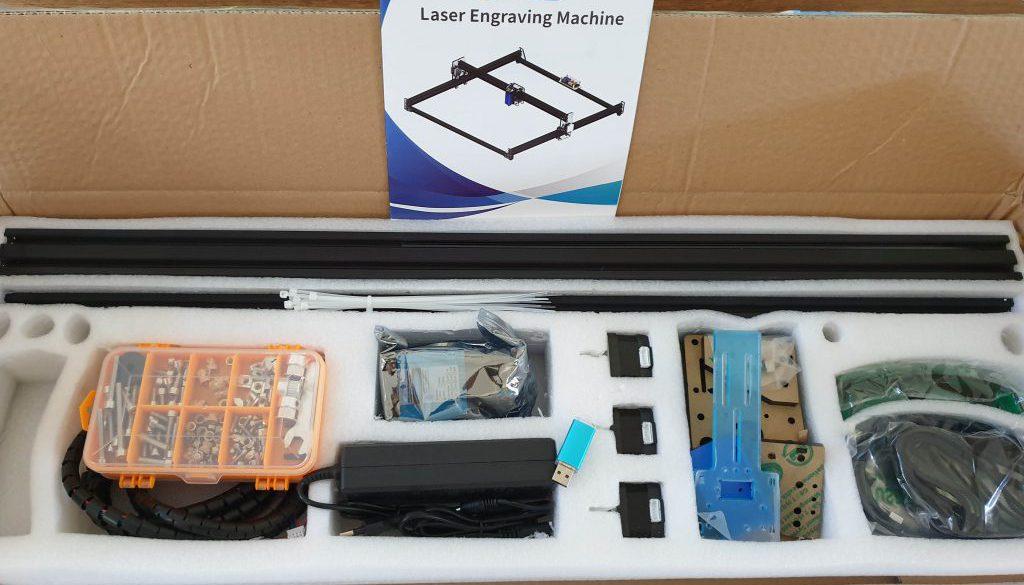 Plotter 65x65 - 15W laser do cięcia i grawerowania z chin
