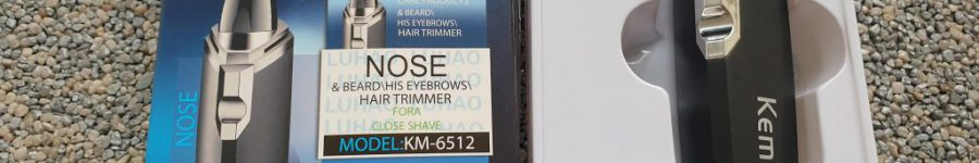 Trimer do włosów w nosie i uszach