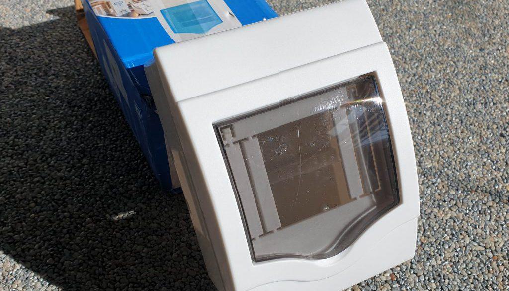 Plastikowa skrzynka na bezpieczniki elektryczne z chin